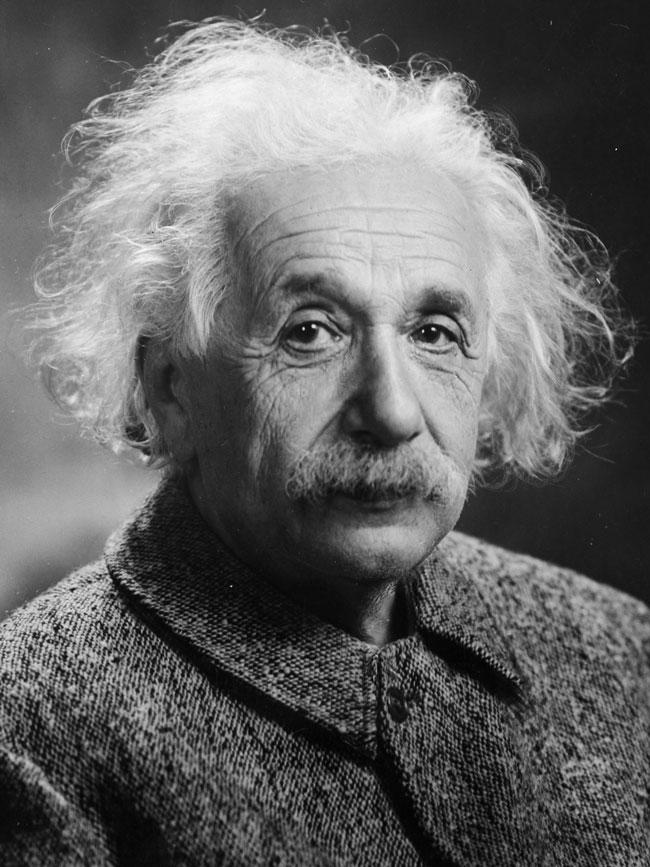 Albert Einstein. De Photograph by Orren Jack Turner, Princeton, N.J.