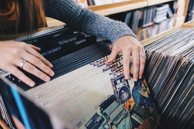 Las tiendas de discos han quedado actualmente para los coleccionistas