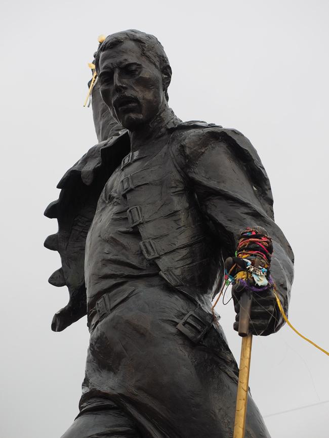 Estatua de Freddie Mercury en Montreux, Suiza