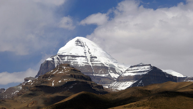 Monte Kailash. La India. 6.638 metros