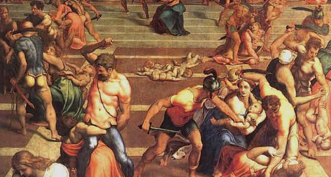 La masacre de los Santos Inocente de Daniele da Volterra