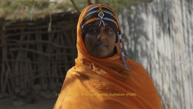 Zahra, una superviviente de la mutilación genital