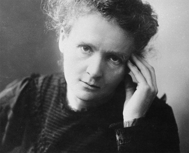 Marie Curie. Autor desconocido
