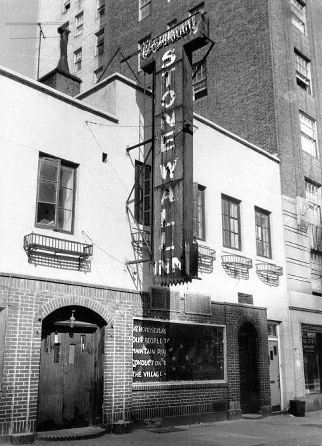 El bar Stonewall Inn (Nueva York, septiembre 1969)