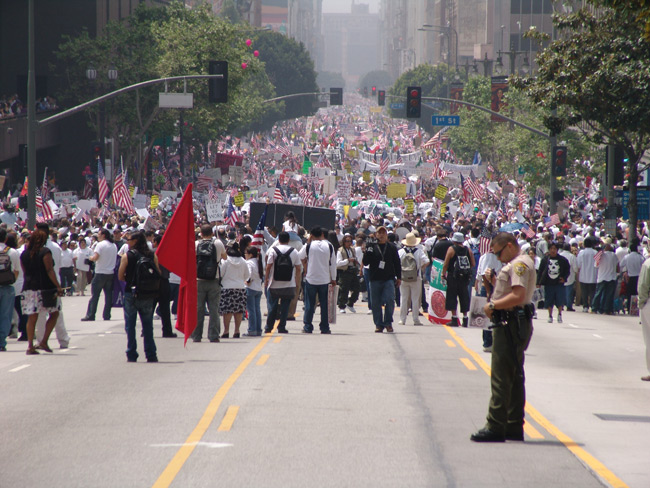 Celebración en Los Ángeles, Estados Unidos, 2006.