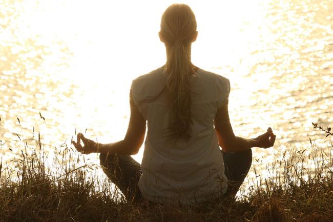La meditación se usa para alcanzar la iluminación
