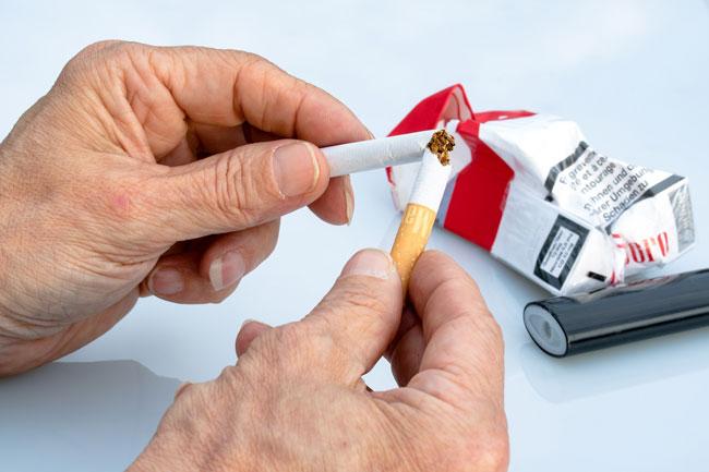 Todo el cuerpo sufre con el tabaquismo