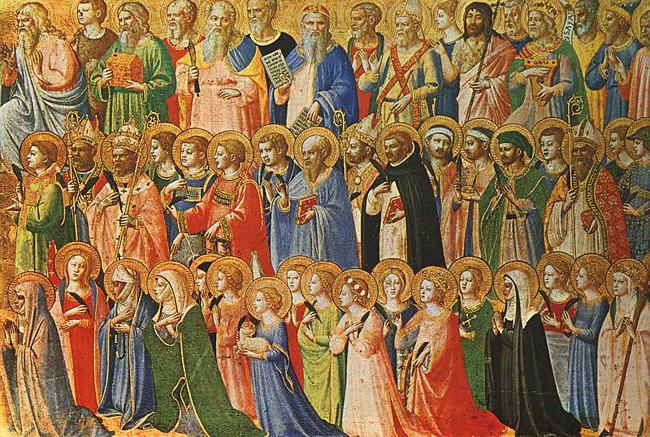 Todos los Santos, pintado por Fra Angélico