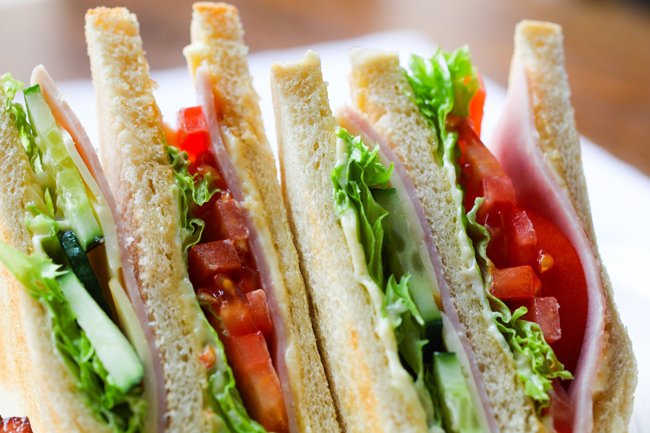 El sándwich admite toda clase de combinaciones, a cual más sabrosa