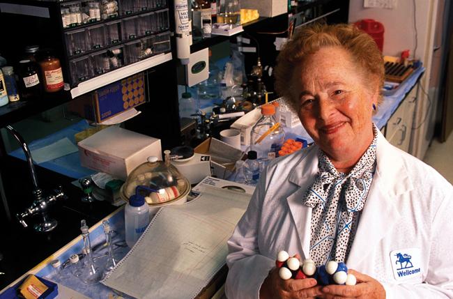 Gertrude Bell Elion, inventora de medicamentos para enfermedades como la leucemia