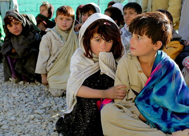 Los niños son el colectivo más vulnerable en situaciones de conflicto