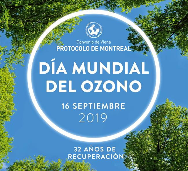Cartel del Día Internacional de la Preservación de la Capa de Ozono 2019